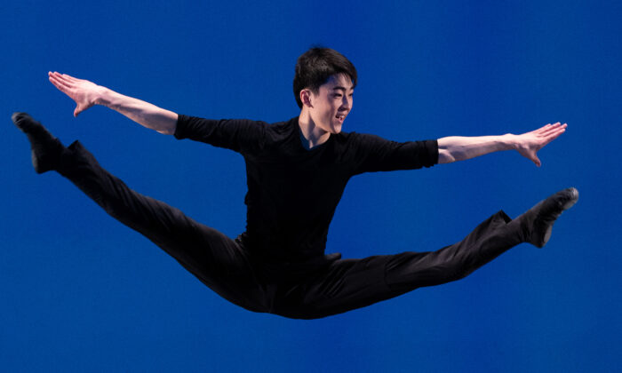 Michael Hu was captivated by the gravity-defying leaps and depth of storytelling at a Shen Yun Performing Arts performance. It initially sparked his dream of becoming a dancer. (Edward Dye)