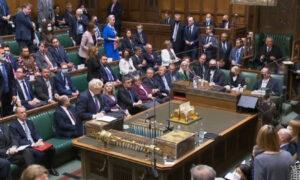 Restriction-Free Commons Debate Reveals New UK Political Divide: Masks