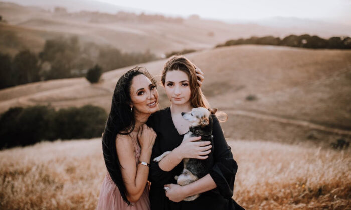 Angela Marie Wulbrecht, pictured with daughter Gabriella, suffered a severe reaction after her COVID-19 vaccination that has left her unable to work. She hopes the federal government will create a compensation program that pays for damages, medical bills, and lost wages to people who can demonstrate they suffered a serious COVID-19 vaccine injury. (Vera Frances Photography)