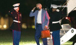 Biden Cuts Vacation Short, Flies Back to Washington