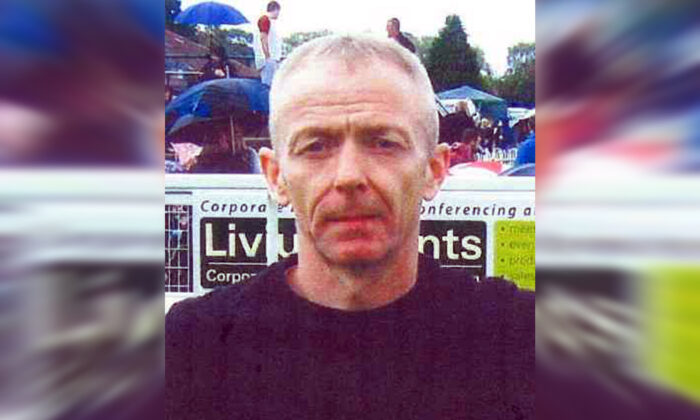 Mark Barrott, 54, who West Yorkshire Police are trying to trace after his wife, Eileen Barrott, was found dead at a property in the Whinmoor area of Leeds, in an undated handout. (West Yorkshire Police/PA)