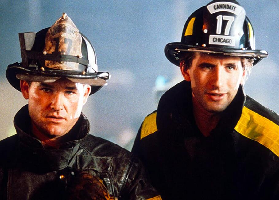 two firemen in BACKDRAFT