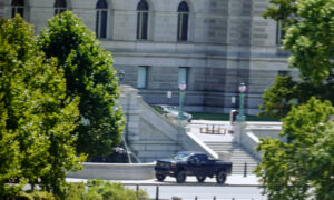 Suspect Arrested, No Bomb Found After 'Active Bomb Threat' Near Library of Congress