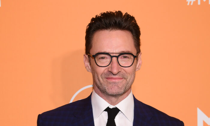 Hugh Jackman attends as Montblanc celebrates the launch of MB 01 Headphones & Summit 2+ at World of McIntosh in New York City, on March 10, 2020. (Dimitrios Kambouris/Getty Images for Montblanc)