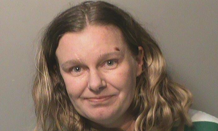 Nicole Poole Franklin in a file photo. (Polk County Jail via AP)