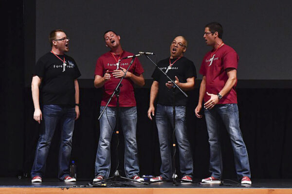 Barbershop Singers Making Music In Nashville: Youth Quartet Contest Opens The Week