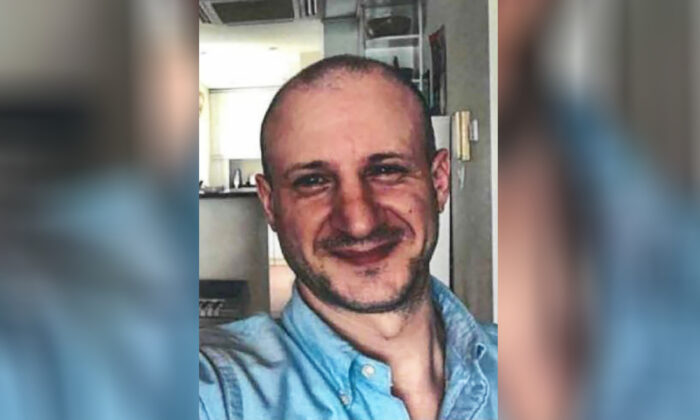 Berczi-Tomcsanyi, a Hungarian national whose family reported him missing at the Grand Canyon, on July 29, 2021. (Grand Canyon National Park/AP)