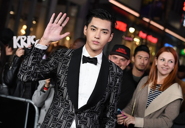"""Kris Wu attends the premiere of Paramount Pictures' """"xXx: Return of Xander Cage"""" on January 19, 2017, in Los Angeles. (ANGELA WEISS/AFP via Getty Images)"""