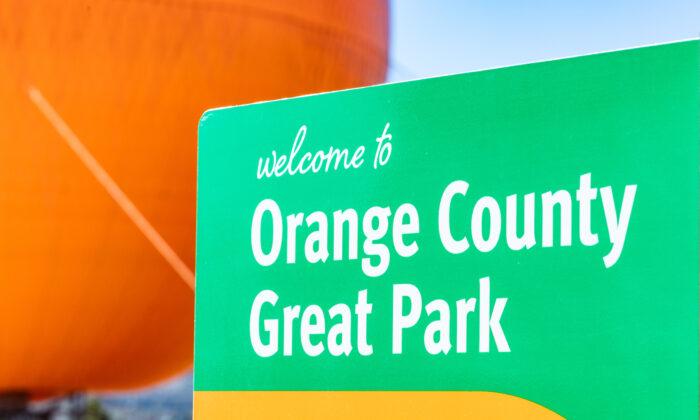 The Orange County Great Park in Irvine, Calif., on Jan. 26, 2021. (John Fredricks/The Epoch Times)