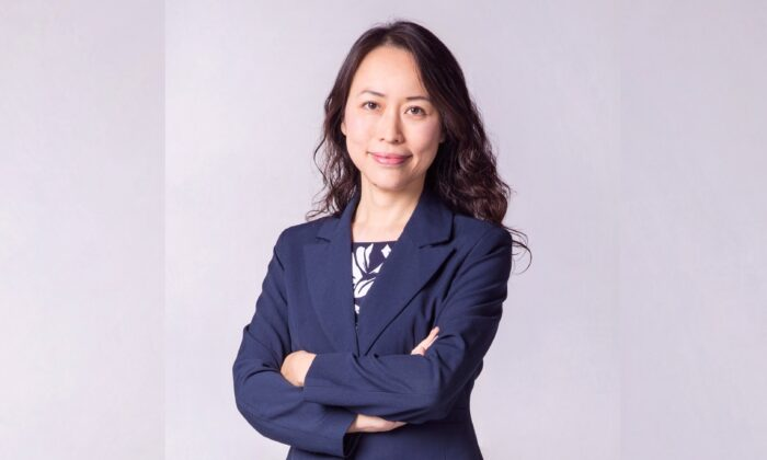 Sherry Zhang, principal of San Francisco High School of the Arts, in a photo dated September 2015. Zhang says her parents in China have been harassed by authorities due to her faith. (Courtesy of Sherry Zhang)