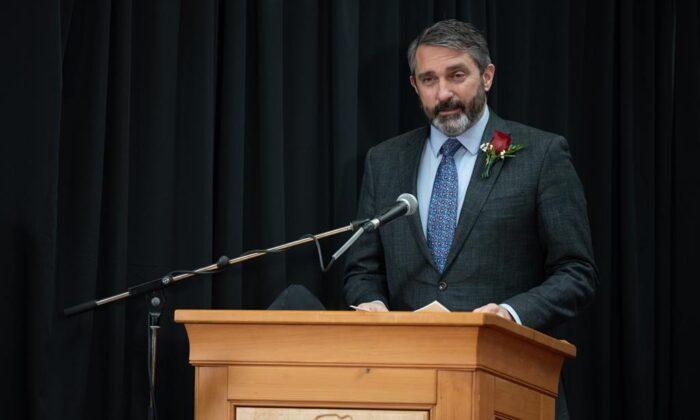 Yukon Premier Sandy Silver in a file photo. (The Canadian Press)