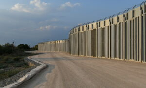 Greece Erects Steel Wall Along Turkish Border Over Afghan Migration Fears