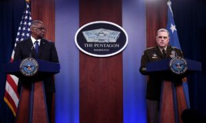 Deep Dive (Aug. 31): 87 Ex-Military Officers Call on Milley, Austin to Resign Over Afghanistan
