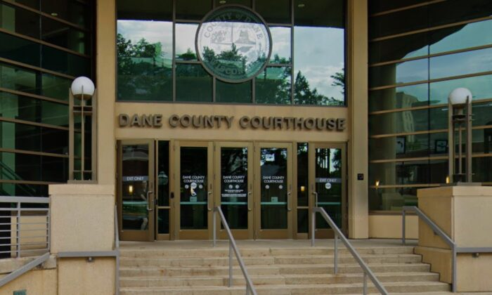 The Dane County Courthouse in Wisconsin.  (Courtesy of Google Maps)