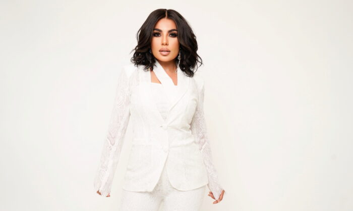 Afghan singer Aryana Sayeed poses in this undated handout photo released by Sherzaad Entertainment. (Sherzaad Entertainment/Handout via Reuters)