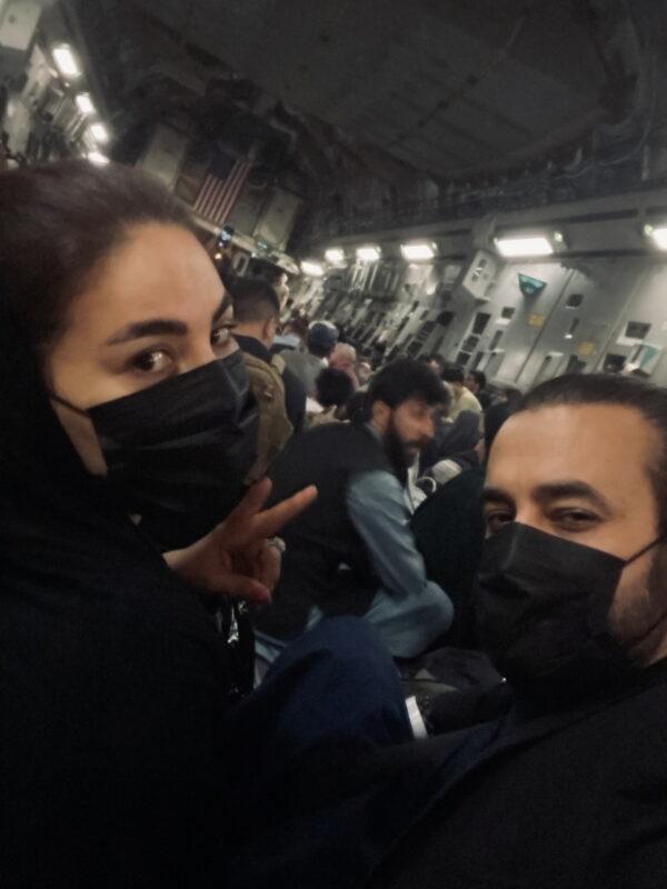 Afghan singer Aryana Sayeed departs Kabul