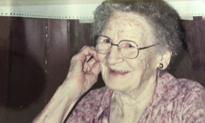 The author's Grandma Weber. (Courtesy of Terese Luikens)