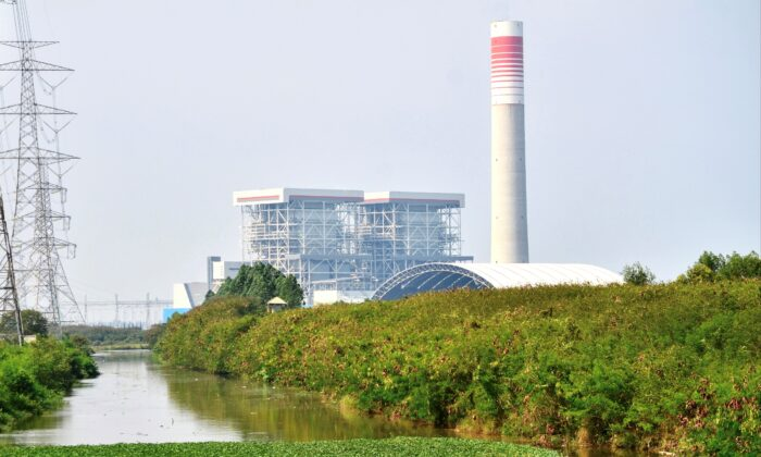The Java 7 power plant in Serang, Banten, Indonesia on Oct. 29, 2020. (Ronald Siagian/AFP via Getty Images)