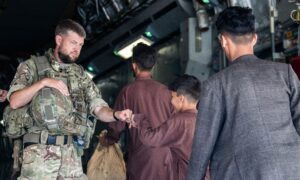 More Than 7,000 Evacuated From Afghanistan by UK Military