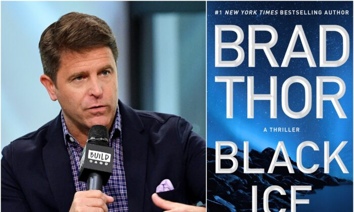 "Author Brad Thor's latest book is ""Black Ice."" (Jeremy Cowart)"
