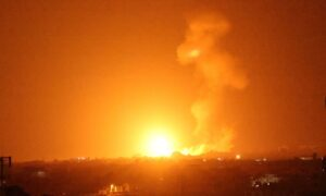 Israel Carries Out Strikes on Hamas Sites in Gaza