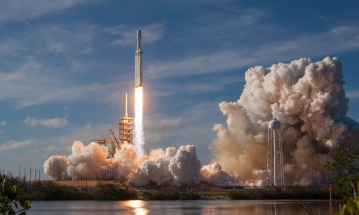 Australia has approved its first major rocket launch in many decades. (SpaceX)
