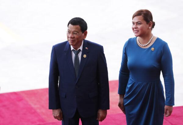 Rodrigo and Sara Duterte