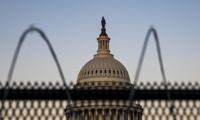 The U.S. Capitol is seen in Washington, on Feb. 8, 2021. (Tasos Katopodis/Getty Images)