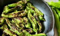Blistered Shishito Peppers Are an Addicting Snack