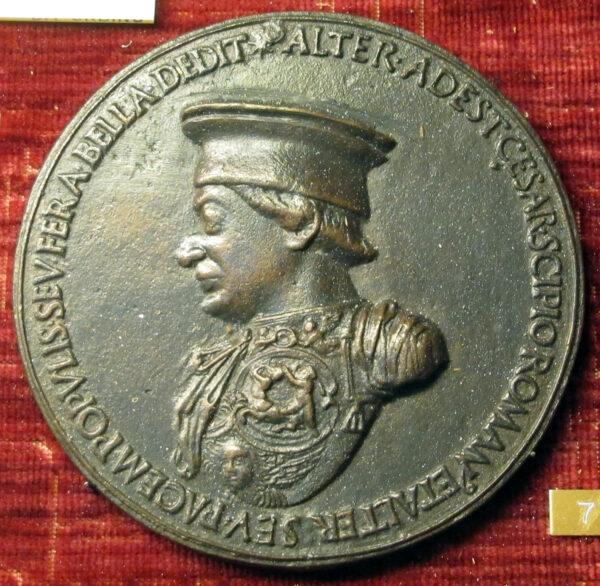 Clemente_da_urbino,_medaglia_di_federico_da_montefeltro,_1468