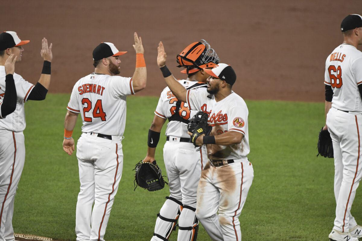 Baltimore Orioles congratulate
