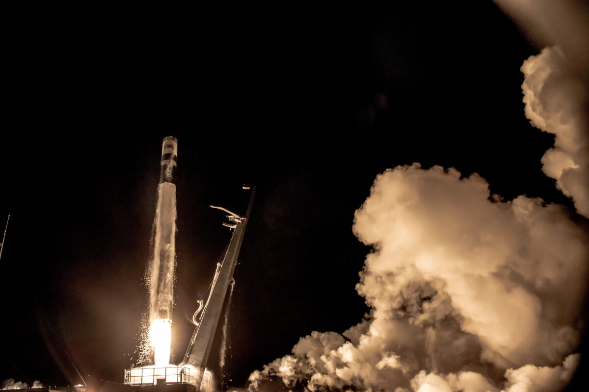 Launch of Electron
