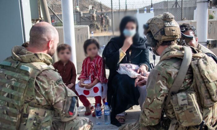 """The final stages of the evacuation effort in Afghanistan are under further strain after a warning that a """"highly lethal"""" terror attack could be launched within hours. Undated UK Ministry of Defense file photo. (UK Ministry of Defense/PA)"""
