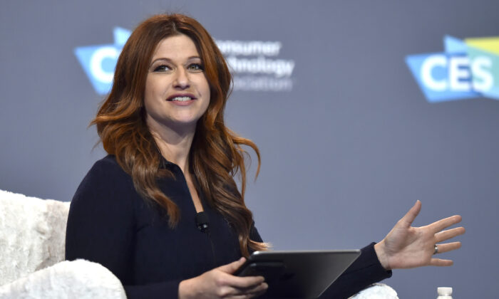 ESPN television host Rachel Nichols speaks during an event at the Aria Resort Casino in Las Vegas, Nev., on Jan. 9, 2019. (David Becker/Getty Images)