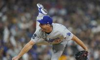 Scherzer Shuts Down Padres, Dodgers Win 4-0 for 3-Game Sweep