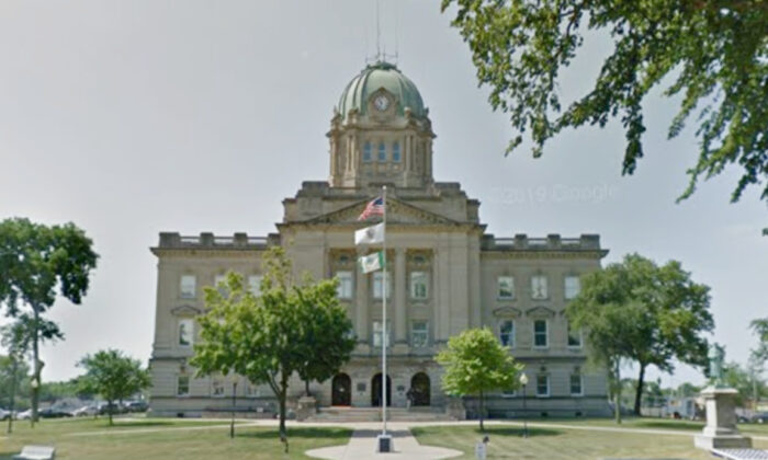 The Kankakee County Courthouse in Kankakee, Ill., in June 2018. (Google Maps)
