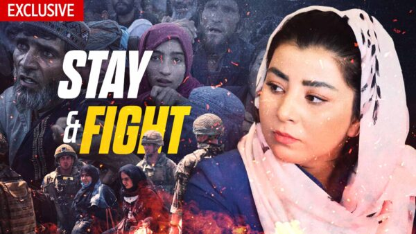 Kabul Woman Risks Life to Call for International Action