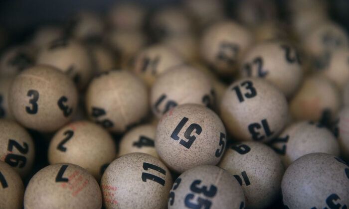 Lottery balls in a file photo. (Justin Sullivan/Getty Images)
