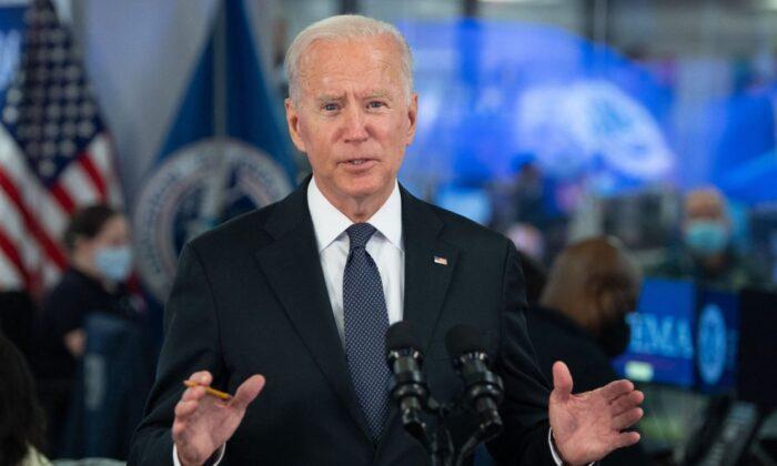 President Joe Biden in Washington, D.C., on Aug. 29, 2021. (Saul Loeb/AFP via Getty Images)