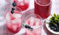 Refresh Yourself With a Blueberry Shrub