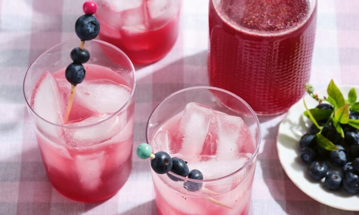 A shrub is a thirst-quenching drink that is most popular in summer months. (Courtesy of Blueberry Love/TNS)