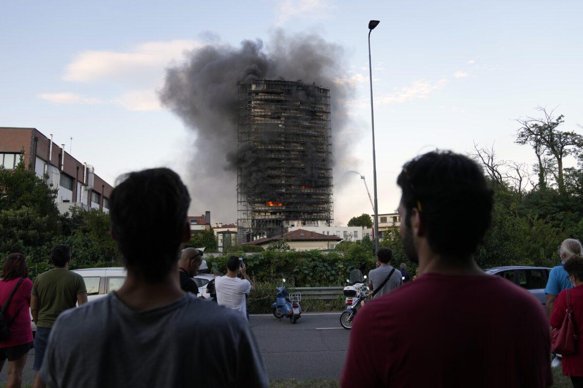 Italy Fire