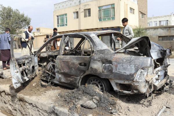 Rocket attack in Kabul