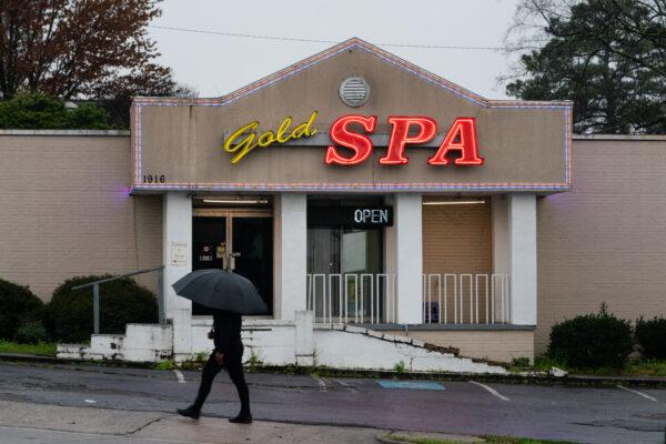 a spa where three women were shot and killed