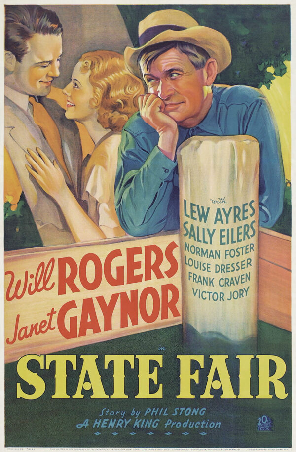 1933 poster for State Fair