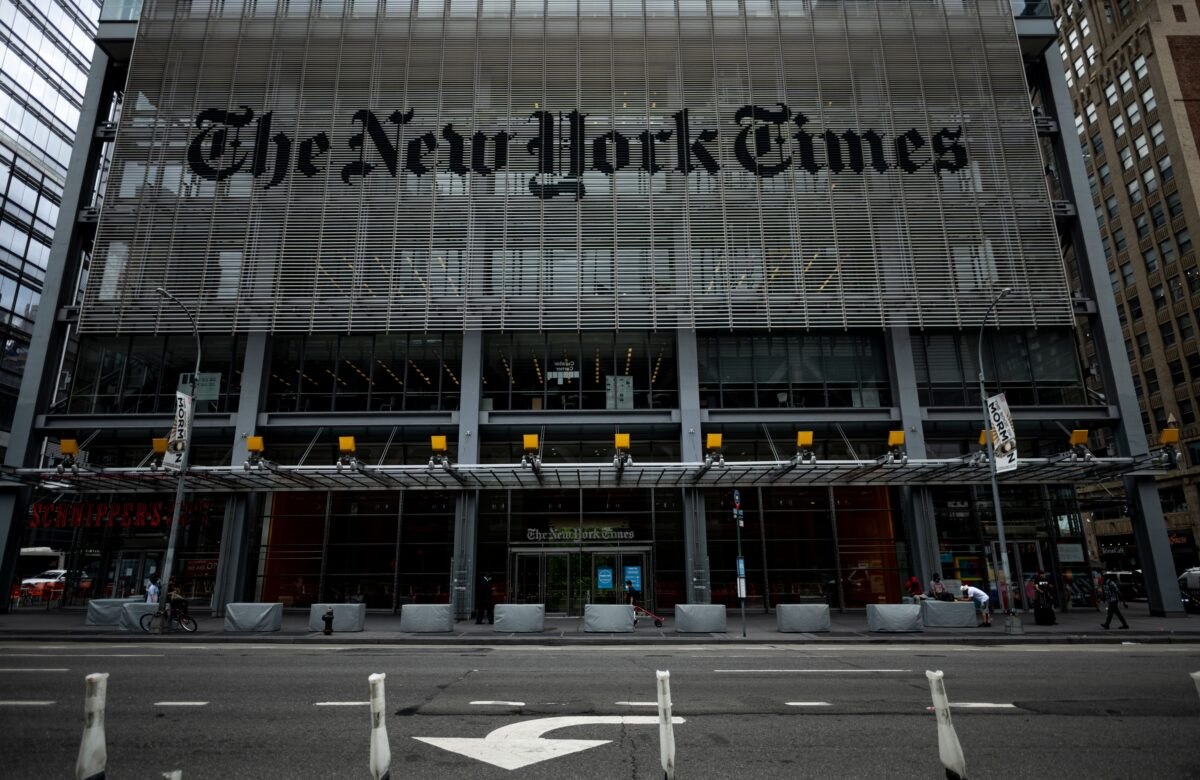 New York Times Pens Major Correction After Overstating Child COVID-19 Hospitalizations
