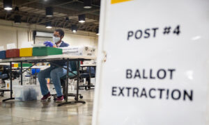 Los Angeles County Registrar Office Verifies 1 Million Recall Ballots Ahead of Election Day