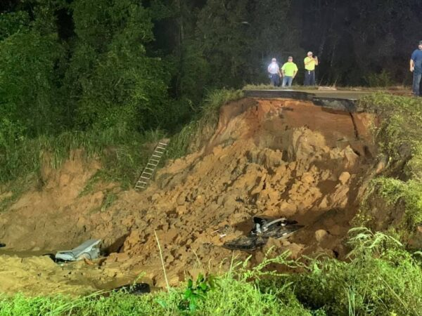 Highway 26 collapse
