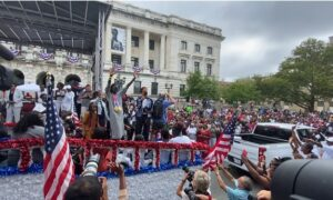 New Jersey Held Parade for Olympic Gold Medalist Athing Mu