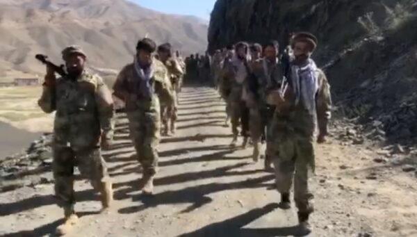 Anti-Taliban resistance troops
